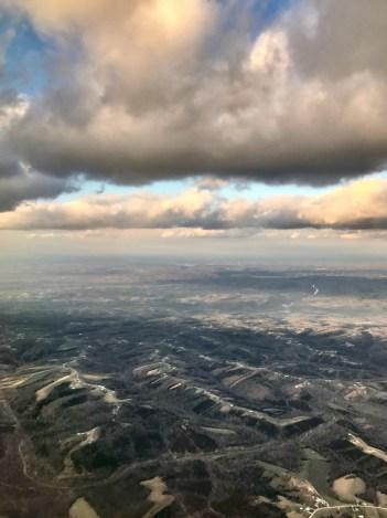 Western Kentucky cloud and sky