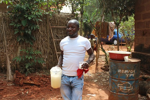 Amos & A Jug of Freshly Tapped Palm Wine by Jujufilms