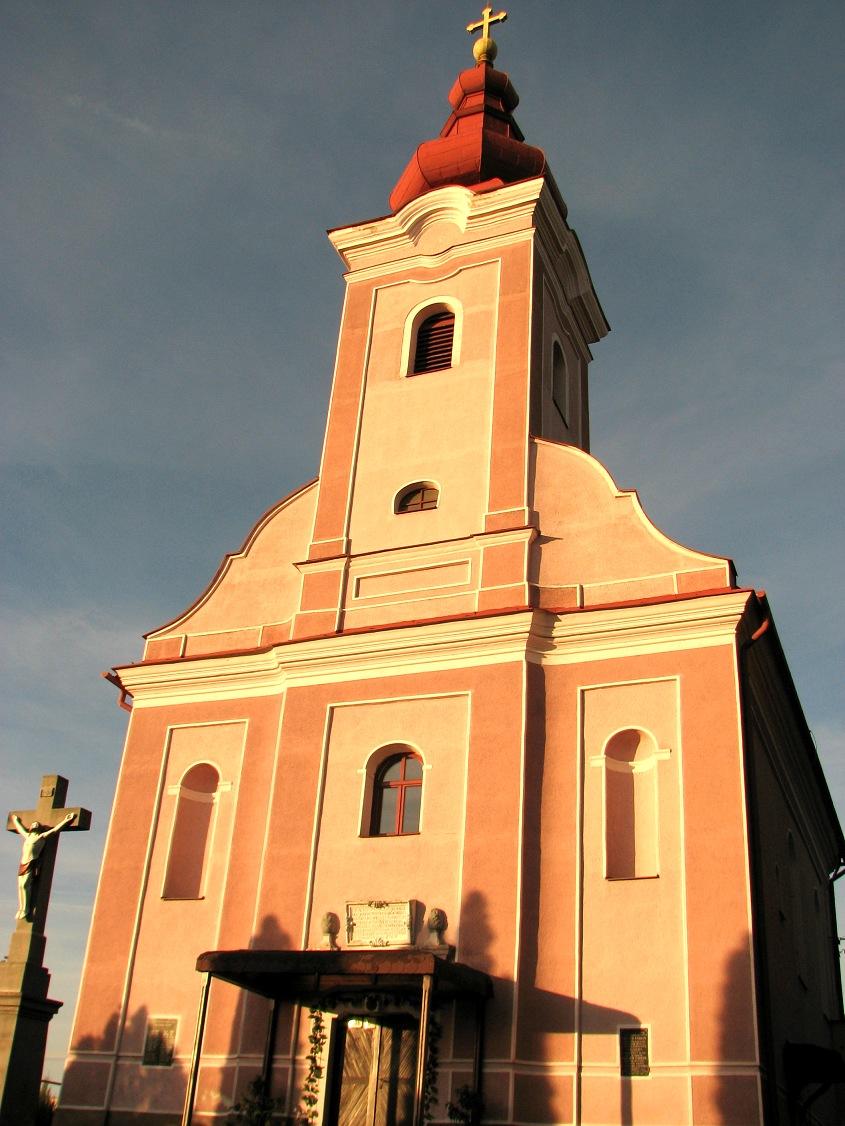 Kostol v Čebovciach