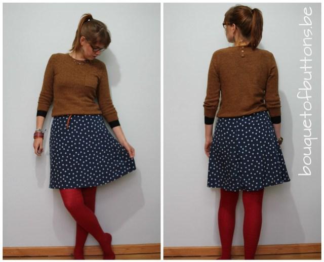 polka dot style, new girl, zooey deschanel