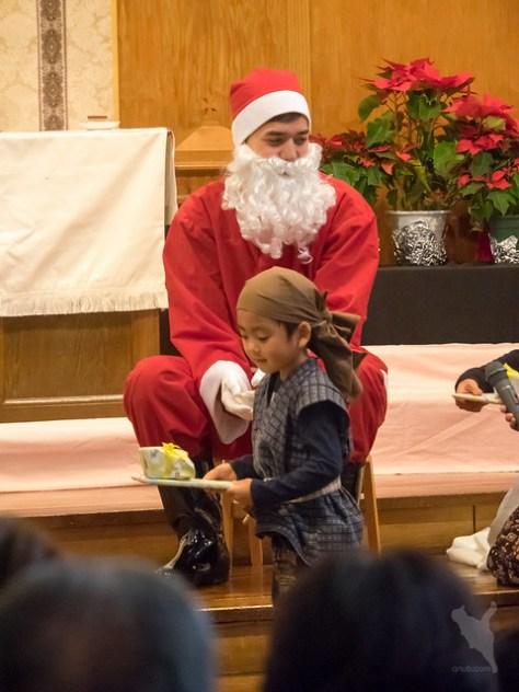 サンタさんからプレゼント