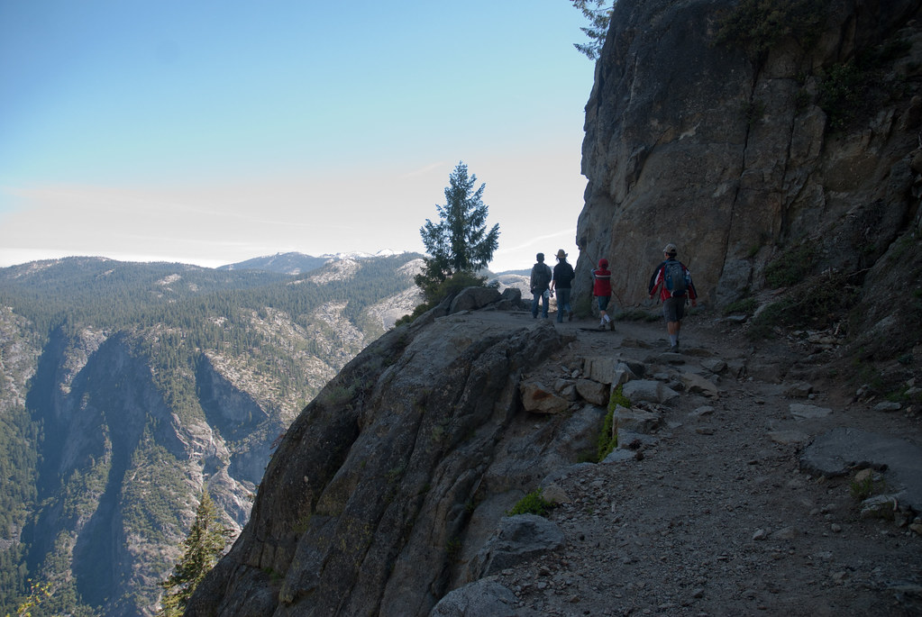 Rocky Trail towards Glacier Point