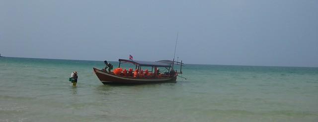 Boat to Koh Kong