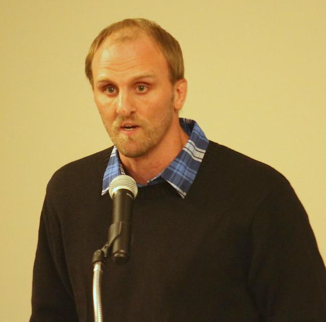 Brett Bartholomaus, Presenter for inductee Mark Voyce.