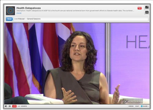 Health Datapalooza: Challengepalooza: Sara Holoubek