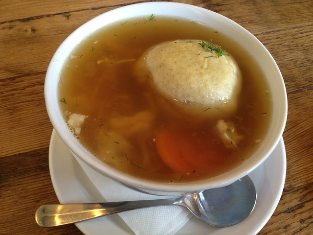 Matzo ball soup - Wise Sons Jewish Delicatessen