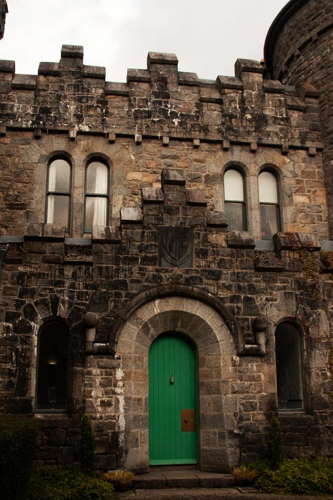 Glenveagh Castle Entrance