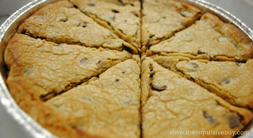 Papa John's Mega Chocolate Chip Cookie Closeup