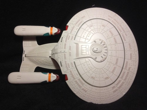 USS Enterprise D Star Trek TNG (3) by SacredKnightOfTomorrow