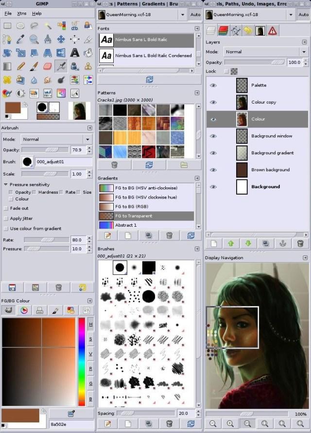 Best list of free image & graphic designing softwares - Gimp