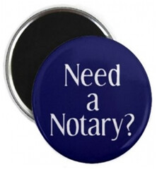 Notary property guiding