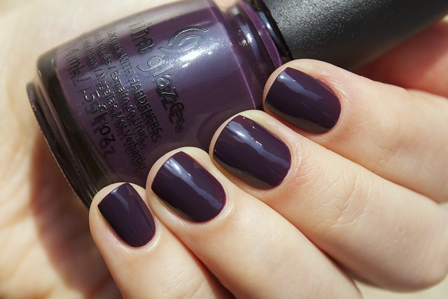 03 China Glaze Autumn Nights Charmed, I'm Sure