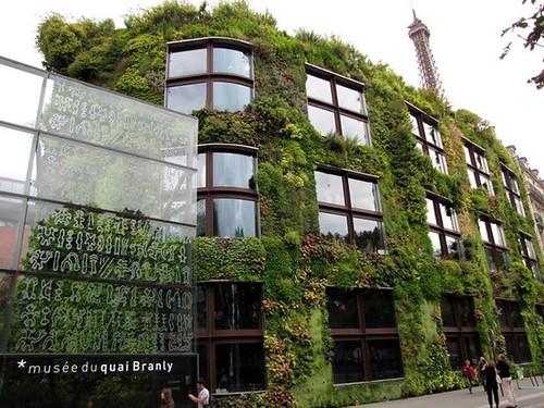bảo tàng quai branly - kiến trúc xanh