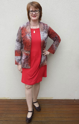 Lekala 5859 dress with StyleARC Marni jacket