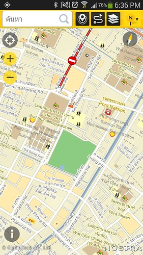 NOSTRA Map 2.4.3 บน Android
