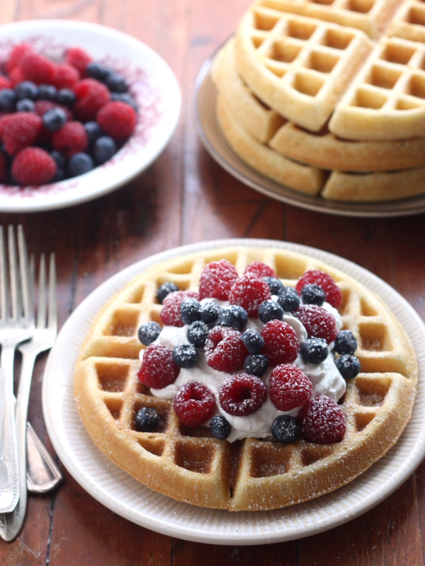 Best Buttermilk Waffles | completelydelicious.com