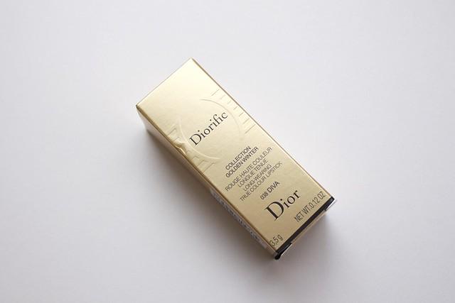 01 Dior Diorific Collection Golden Winter #038 Diva