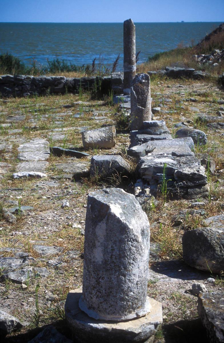 Lugar arqueológico de Histria, cerca de Constanza