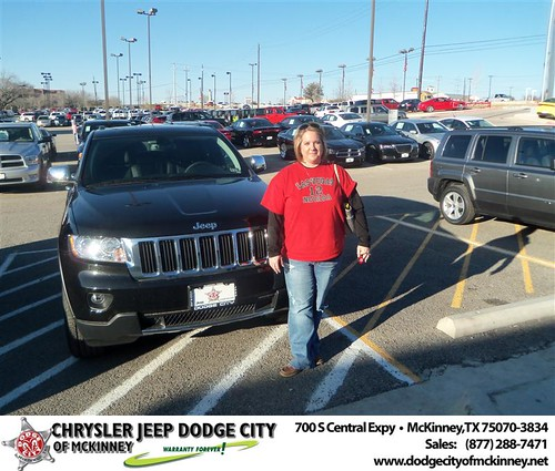 Happy Anniversary to Kari D Dickerson on your 2013 #Jeep #Grand Cherokee from George Rutledge  and everyone at Dodge City of McKinney! #Anniversary by Dodge City McKinney Texas