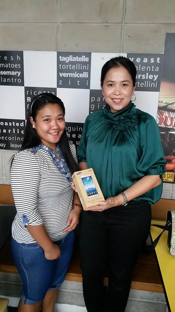 Samsung Mega giveaway winner
