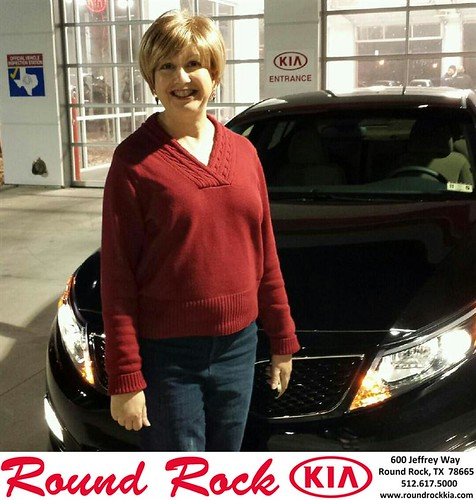 Thank you to Diane Goodman on your new car from Ruth Largaespada and everyone at Round Rock Kia! #NewCarSmell by RoundRockKia