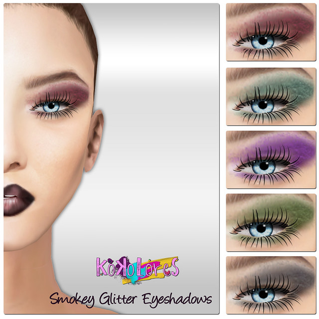 [KoKoLoReS] BP - Smokey Glitter Eyeshadow