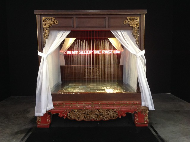 The Raining Bed, by FX Harsono, Art Stage Singapore 2014