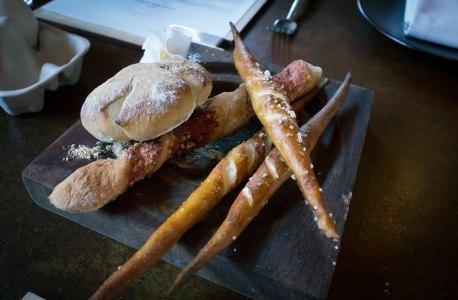 Beautiful bread spread