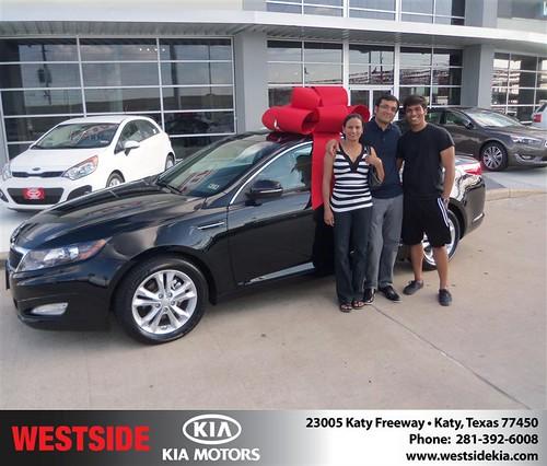 Westside KIA Houston Texas Customer Reviews and Testimonials - David Fehrenbach by Westside KIA
