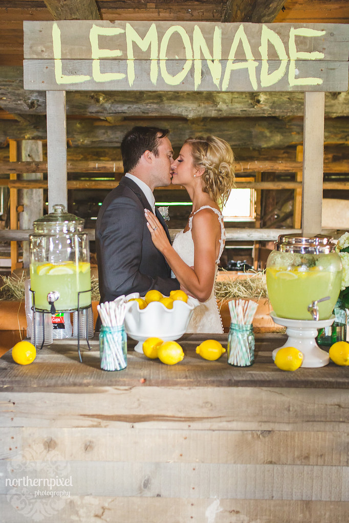 Lemonade Kiss Nick & Billie's Wedding