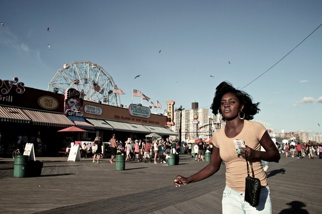 Last Days of Summer at Coney Island