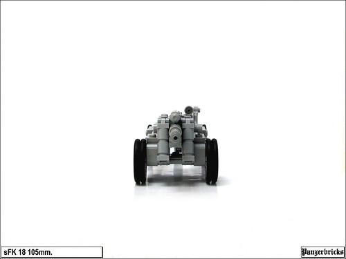 sFK 18 105mm. de Panzerbricks
