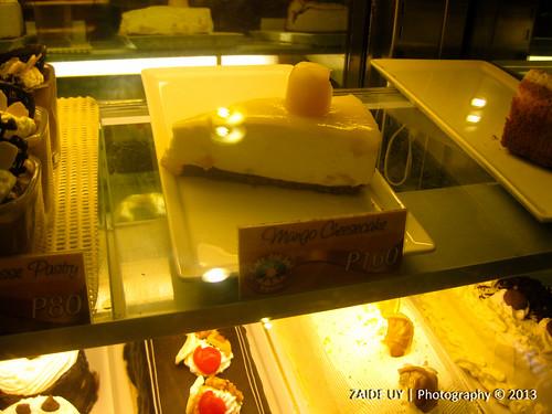 Cafe Del Sol Mango Cheesecake