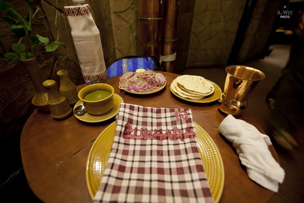 Table Setup at Bukhara