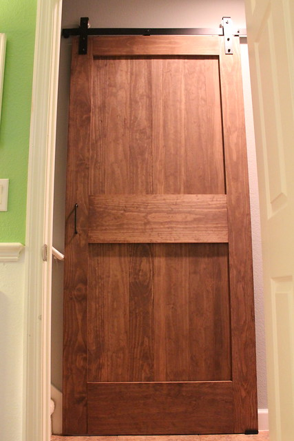 {diy} sliding barn door