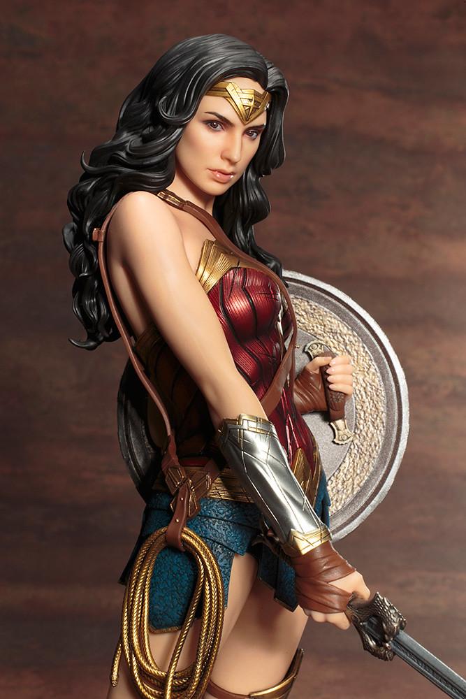 女神降臨,壽屋ARTFX 系列[神力女超人]WONDER WOMAN1/6 比例全身雕像作品   玩具人Toy People News