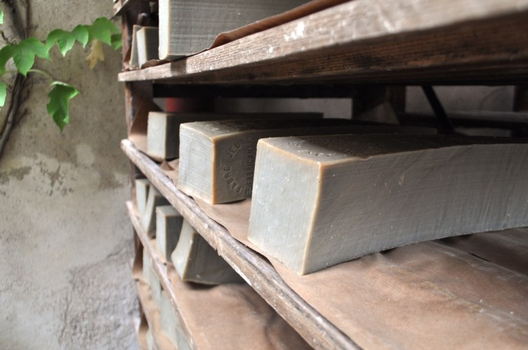 Travel to France: Blocks of Soap at La Savonnerie Marius Fabre