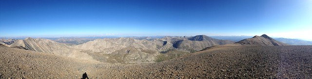 Panorama from the Summit of Mt. Cameron, Colorado