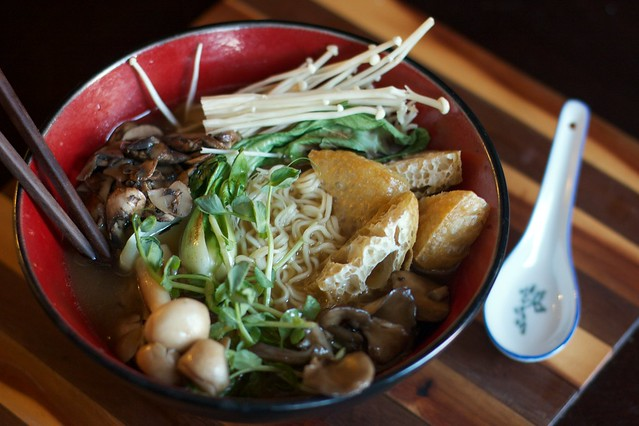 Mushroom Miso Ramen 3