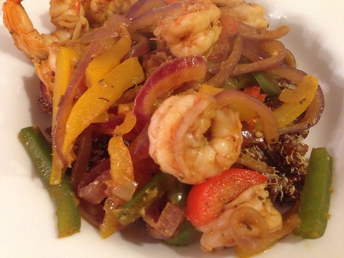 spicy shrimp saute