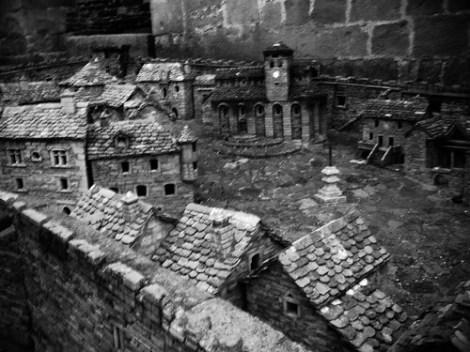 #festivaldestempliers Le village miniature de Castelanau