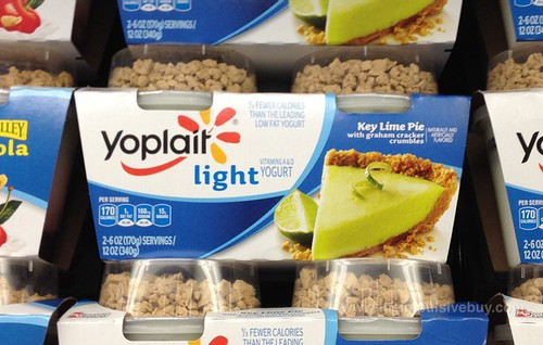 Yoplait Light Key Lime Pie with Graham Cracker Crumbles