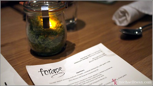 Forage Restaurant, Dine Out Vancouver