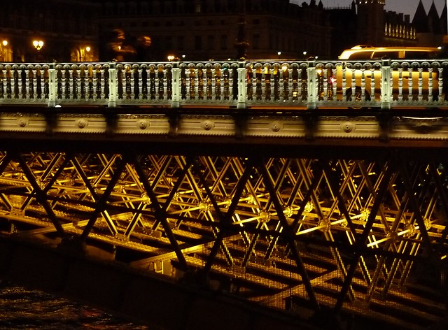 Night Seine Bridge 2