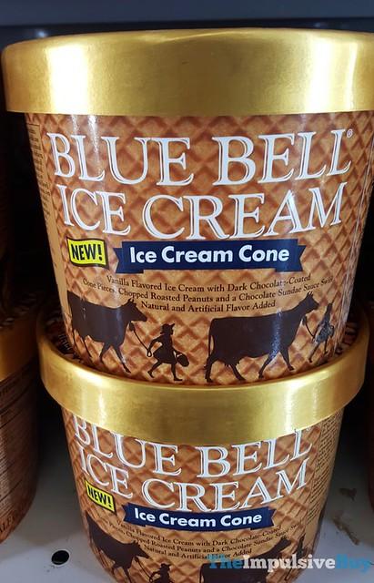 Blue Bell Ice Cream Cone Ice Cream