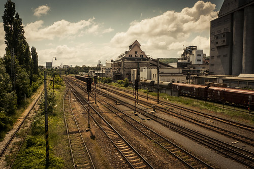 The Lost Station : The Red Worker (Bratislava, Slovaquie) - Photo : Gilderic