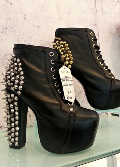 Shoes with attitude