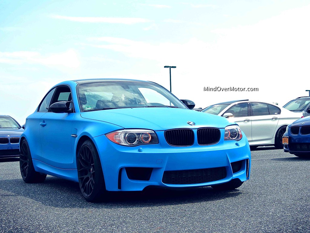 Matte Blue BMW 1 Series M