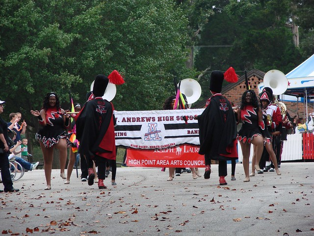 Andrews Marching Band