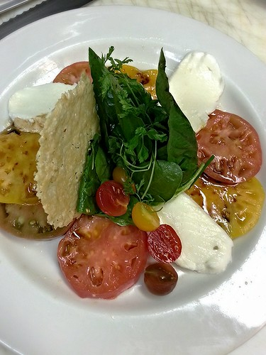 Caprese Salad (composed) by pipsyq